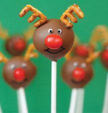 Reindeer Pops for Christmas