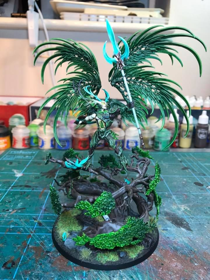 Warhammer Age of Sigmar | Stormcast Eternals / Sylvaneth | Celestant Prime Conversion #warhammer #ageofsigmar #aos #sigmar #wh #whfb #gw #gamesworkshop #wellofeternity #miniatures #wargaming #hobby #fantasy