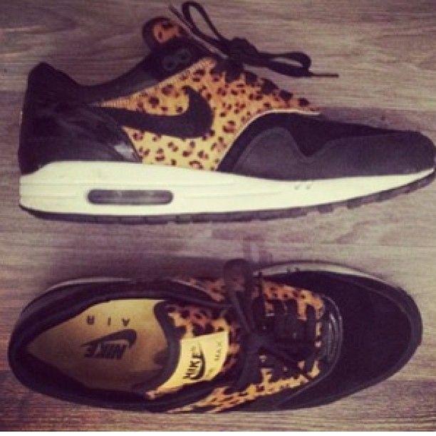 Leopard Nike Airs<3<3