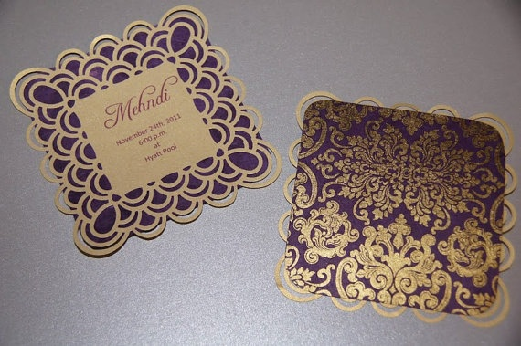 Mehndi Party Card : Best images about mehndi invitations on pinterest