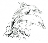 I <3 this dolphin tattoo. similar to what I want to get