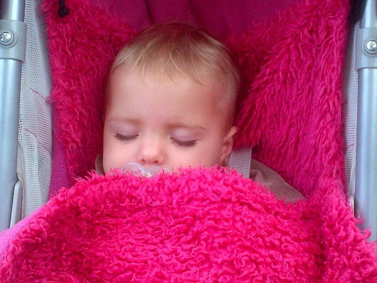 Gorgeous in the Raspberry Shaggy Buggysnuggle