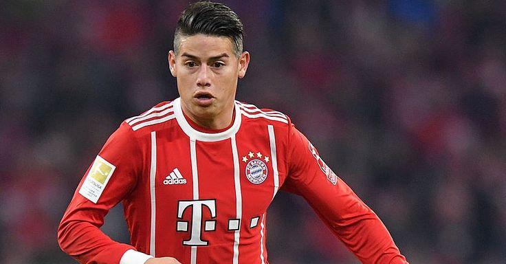 Bayern Munich Midfielder James Rodriguez Had a Concussion During Bundesliga Match