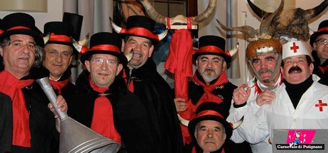 Putignano: Europe's oldest and longest Carnival rocks Apulia in southern Italy