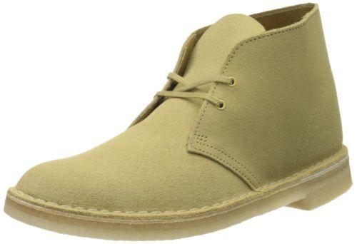 Clarks-Originals-Desert-Boot-Boots-Suede-Leather-Maple-9-D-M-US-NEW-NIB