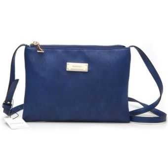 Buy Faux Leather Shoulder Sling Bag - Blue online at Lazada Malaysia. Discount prices and promotional sale on all Cross Body & Shoulder Bags. Free Shipping.