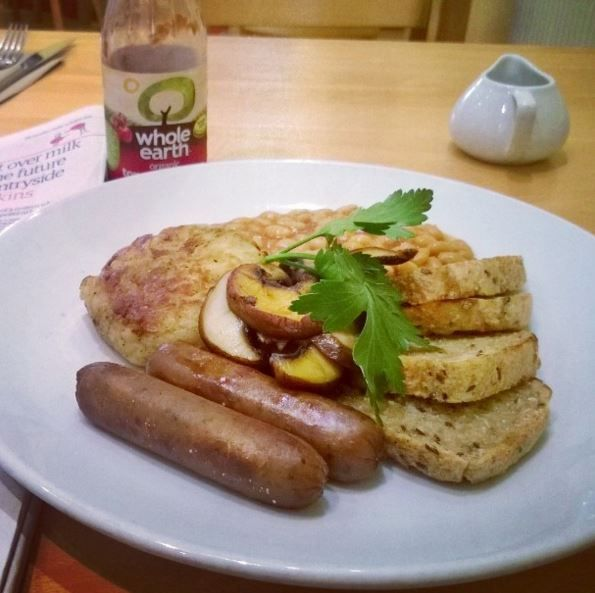 There is nothing more delicious than a Vegan Archie Browns breakfast!  Image credit: trudle_noodle