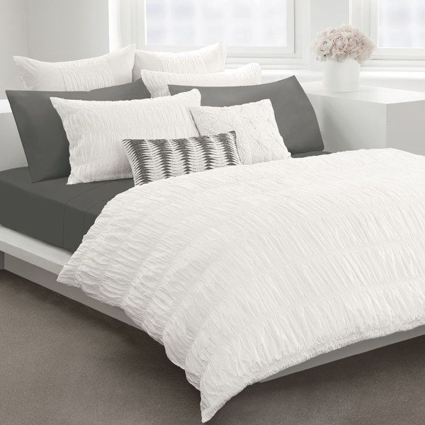 Willow White Duvet Cover $169.99 at Bed Bath and Beyond. I'm going to