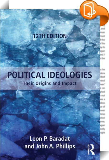 Political Ideologies    ::  <P>Comprehensiveand accessible, <I>Political Ideologies</I> follows the evolution of political thought over 300 years. Organized chronologically, this text examines each major ideology within a political, historical, economic, and social context. Leon Baradat's skillful prose is joined by John Phillips' skillful updating to ensure that students obtain a clear understanding of how ideas influence the political realities of our time. The twelfth edition of th...
