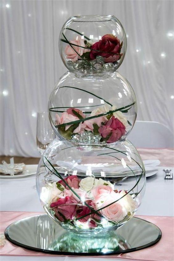Blumenhochzeitsschmuck; einfache Hochzeitsdekore; DIY Hochzeitsschmuckstücke; ru