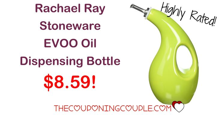HOT BUY! The Rachael Ray EVOO Oil Dispensing Bottle is only $8.59! Keep that oil fresh! Perfect for cooking!  Click the link below to get all of the details ► http://www.thecouponingcouple.com/rachael-ray-stoneware-evoo-oil-dispensing-bottle/ #Coupons #Couponing #CouponCommunity  Visit us at http://www.thecouponingcouple.com for more great posts!