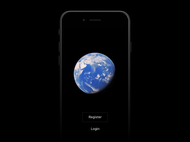 Earth registration