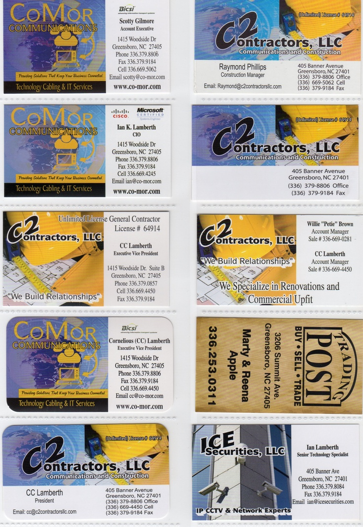 21 best Business Cards, Flyers, Door Hangers and More images on ...