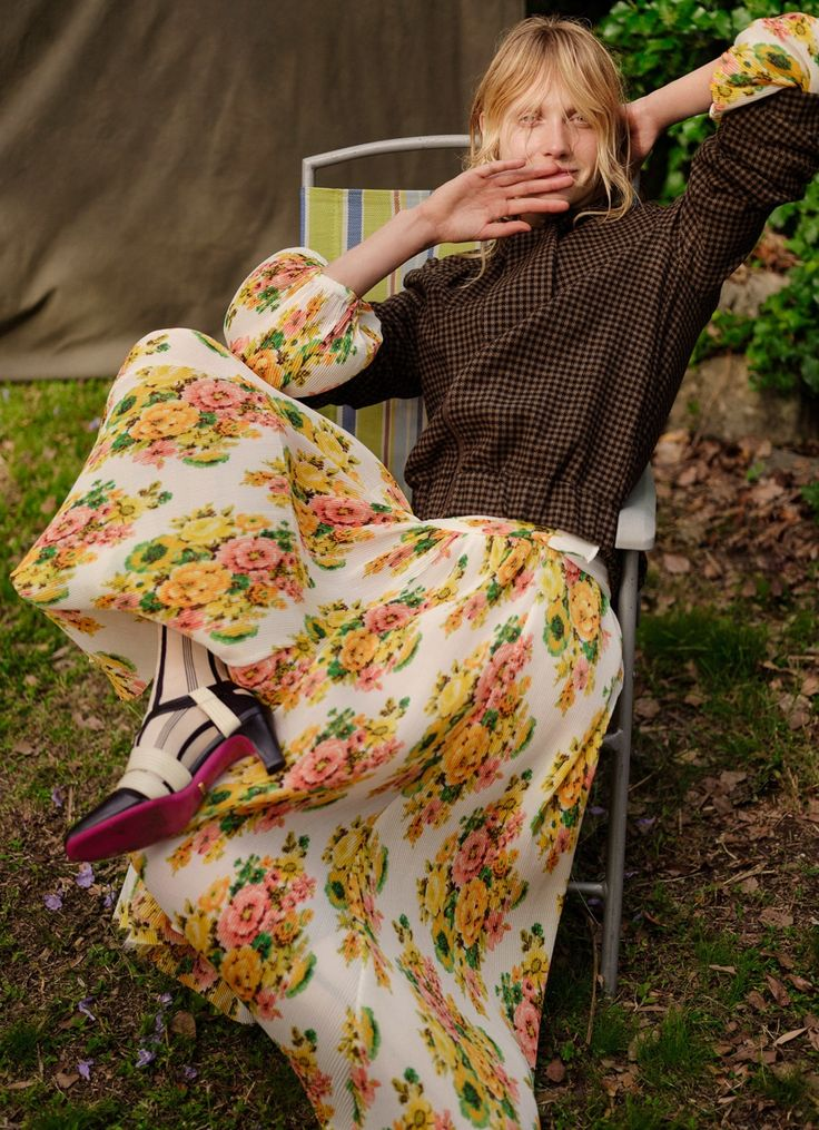 Annely Bouma Is Garden Beauty Lensed By Georges Antoni For Marie Claire Australia March 2018 — Anne of Carversville