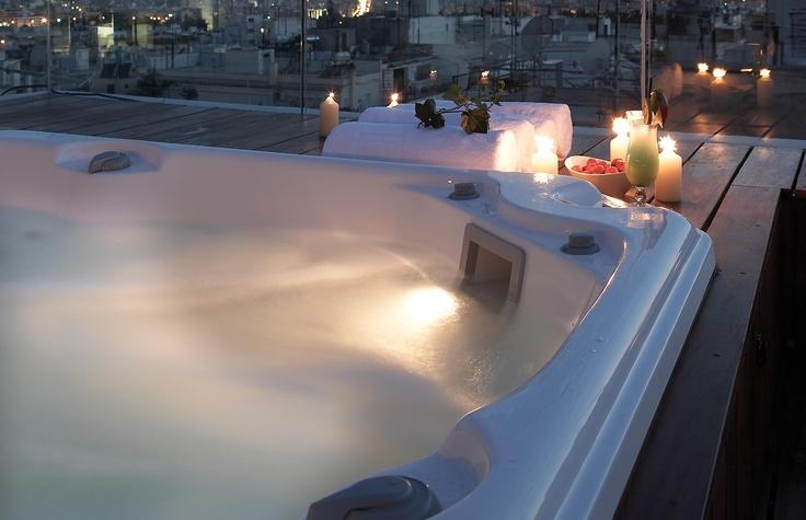 Penthouse Suite Jacuzzi