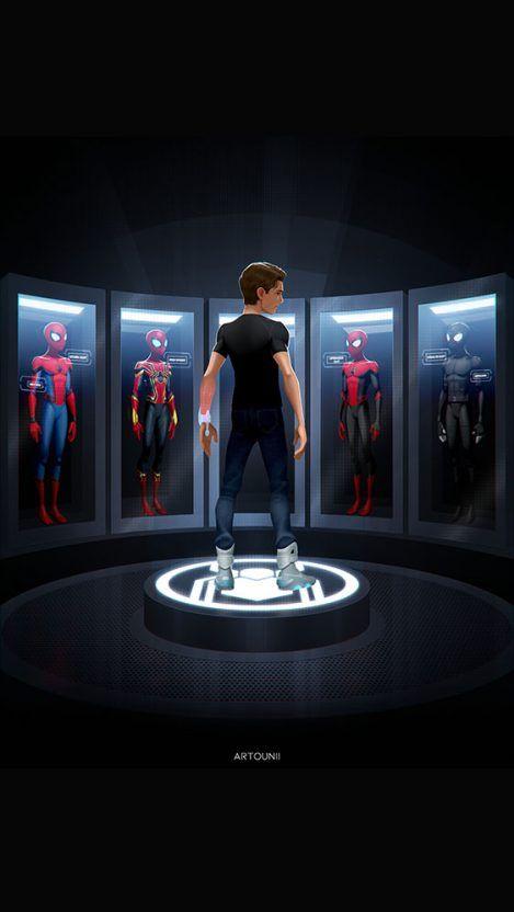 Next Iron Man iPhone Wallpaper