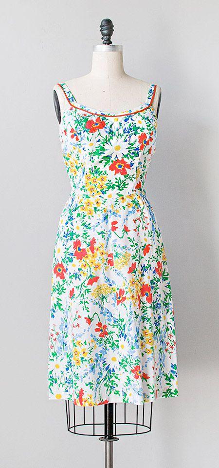 paradise cove dress | vintage 1970s dress