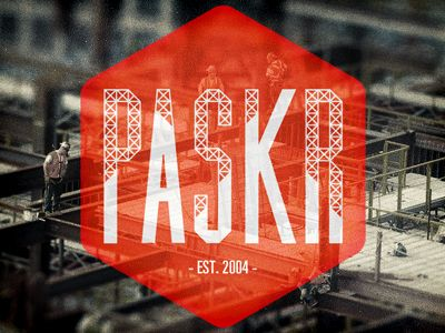 Paskr #Logo by Ryan Paul Young: Graphic Design, Young Branding, Logo Design, Logos Design, Paskr Logo, Branding Logo, Paul Young, Design Web Logo Branding