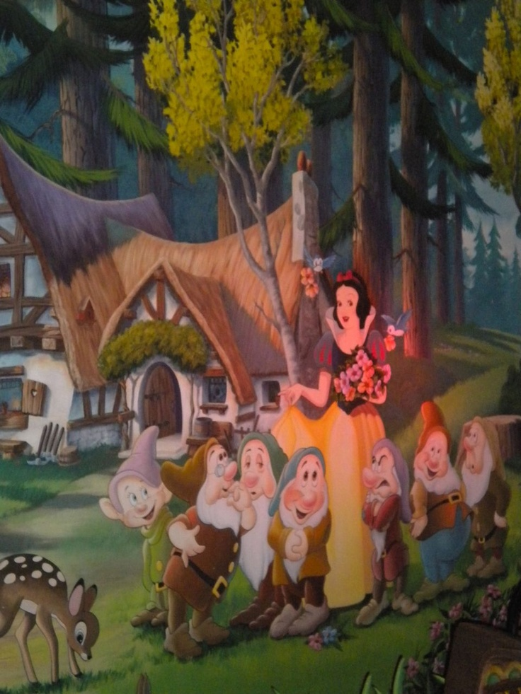 The Snow Whiteu0027s Scary Adventures Ride At Disney World Closes This Year!  This Is Only · Mural WallSnow ... Part 82