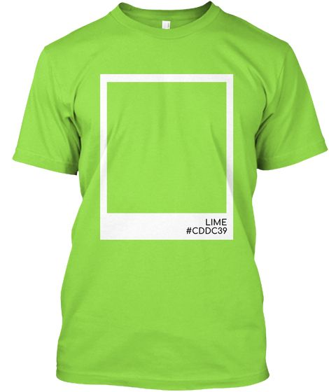 Lime Color Lime Kaos Front