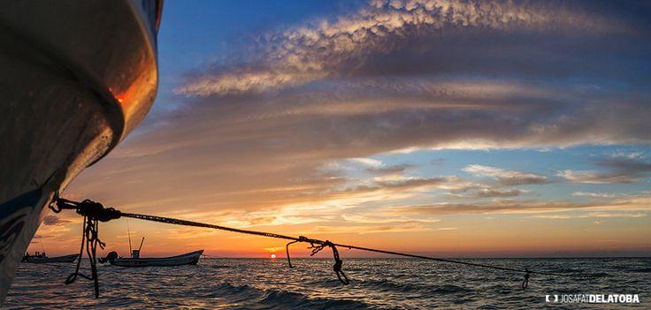 Finishing one more day in Holbox #josafatdelatoba #cabophotographer #holbox #landscapephotography #mexico #quintanaroo #sea