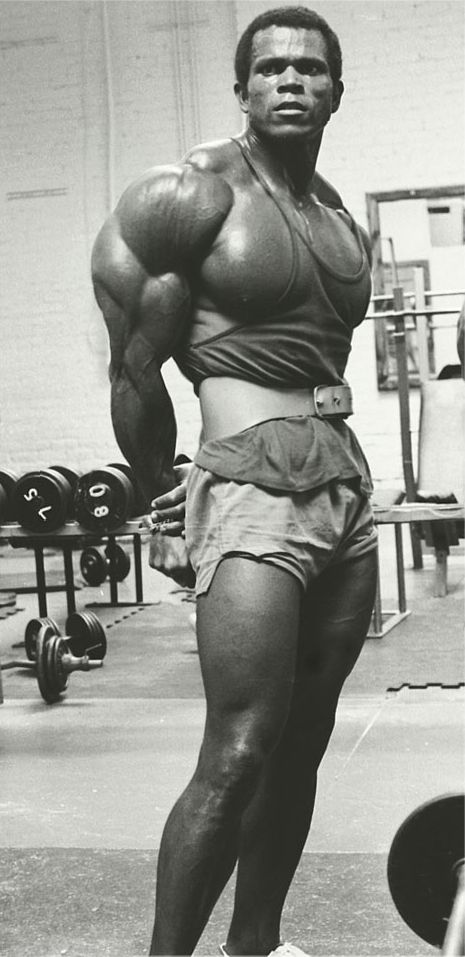 Serge Nubret - Side Tricep Pose | B O D Y B U I L D I N G | Pinterest | Bodybuilding, Fitness and Bodybuilding motivation