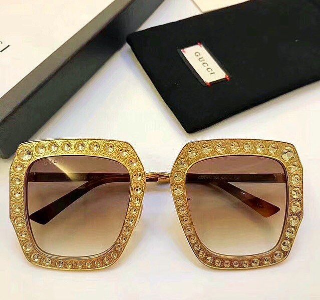 969551be8ab GG CRYSTAL METAL SQUARE OVERSIZED SUNGLASSES HAVE ARRIVED. CLICK PIC TO  PURCHASE  celebrityinspiracion  gucci