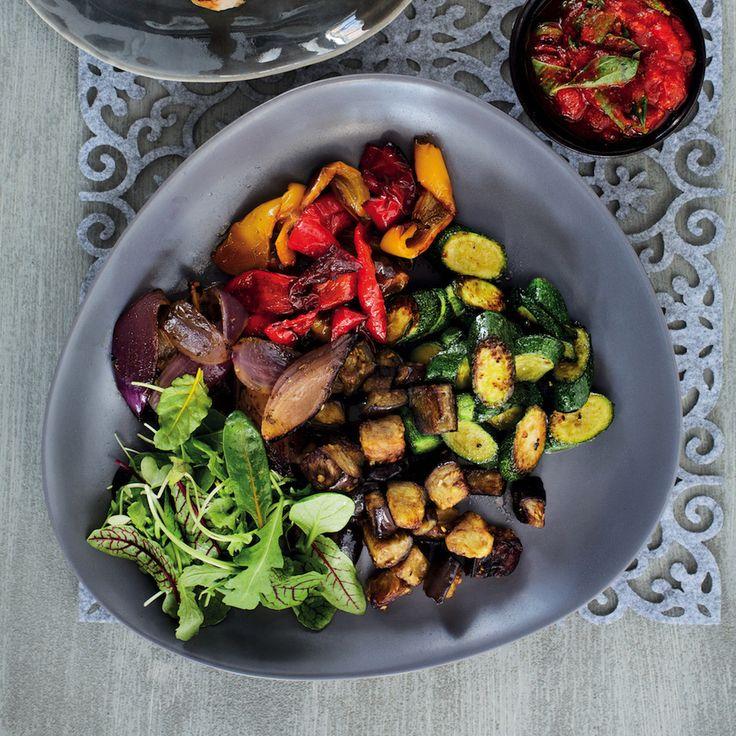 Deconstructed ratatouille salad - MyKitchen