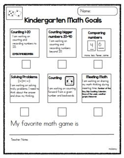 Joyful Learning In KC: Writing, Math and Reading Goals! Love the goal recording sheets!