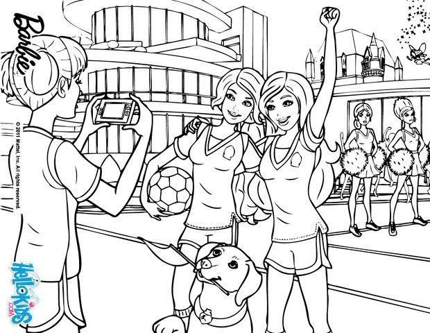 barbie princess charm school coloring pages google sgning - School Colouring In