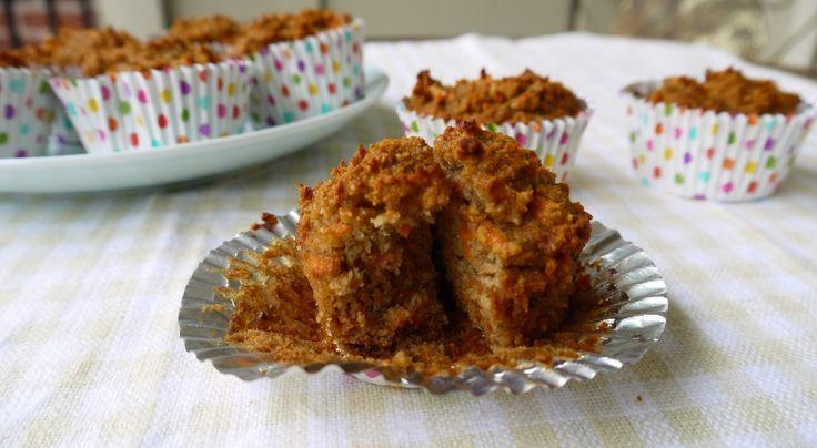 Carrot Cake Breakfast Muffins (paleo, gluten-free)