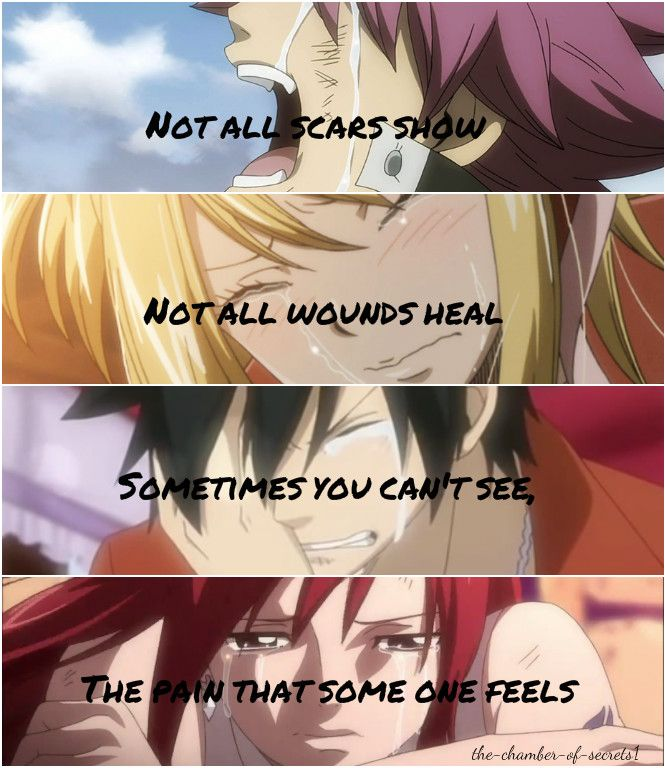 Every Day, you don't know how it feels, you have a easy life like everybody else, caring parents, everything you want, money, new clothes, when you want something you just ask and get it, not everybody has the money for that - Fairy Tail ~ DarksideAnime