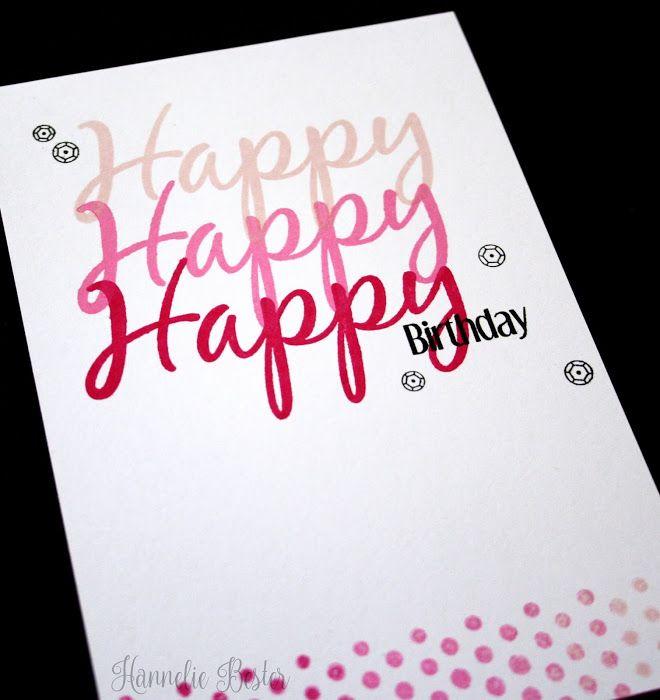 birthday cards word
