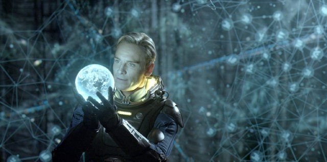 Still of Michael Fassbender in Prometheus