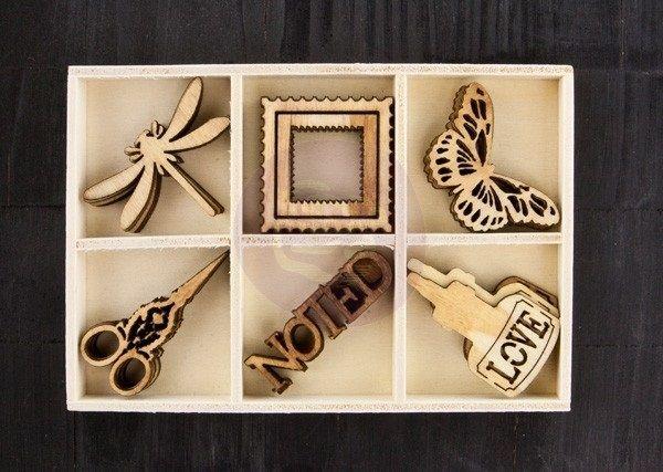 Stationer's Desk Prima - Drewniane w pudełku przydasiepasjonaty