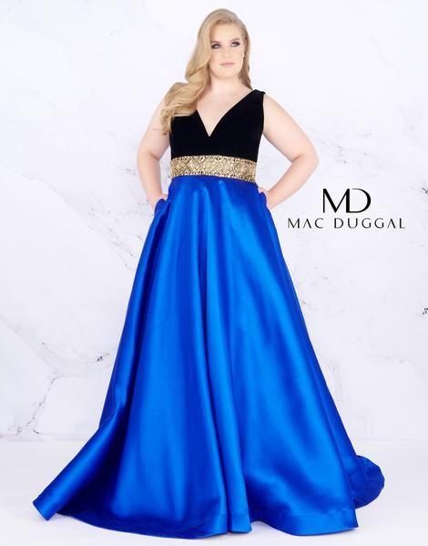 da34c50ce6304 ... Mac Duggal Plus size Evening dress. Plus Size Formal Dresses Page 10 - The  Dress Outlet