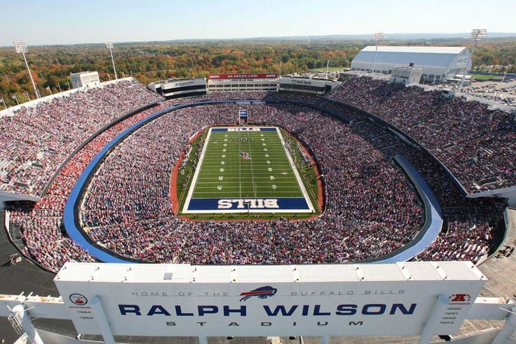 Been there!!!!   Ralph Wilson Stadium, 1 Bills Dr, Orchard Park, NY (home of the Buffalo Bills since 1973)