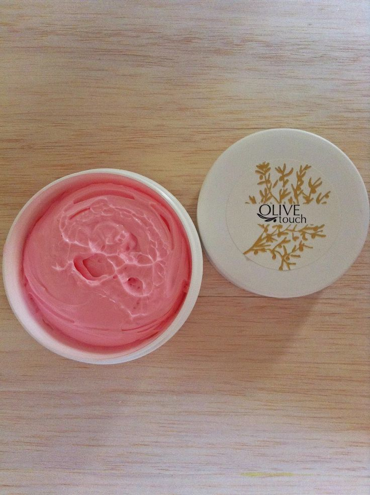 Pomegranate Body Butter Olive Touch (photo by BlouBlouBlog)