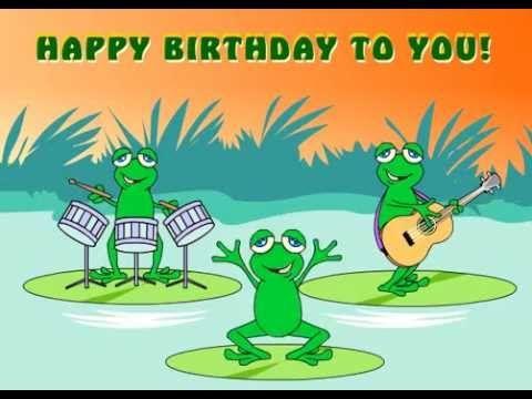 happy birthday Yippie yey... - YouTube