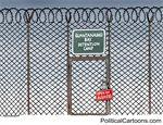 New executive order for Guantanamo Bay by Niels Bo Bojesen, politicalcartoons.com