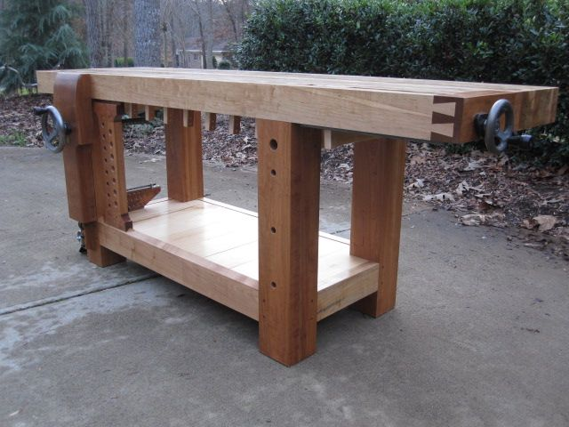 Review The Wood Whisperer Split Roubo Guild Build By