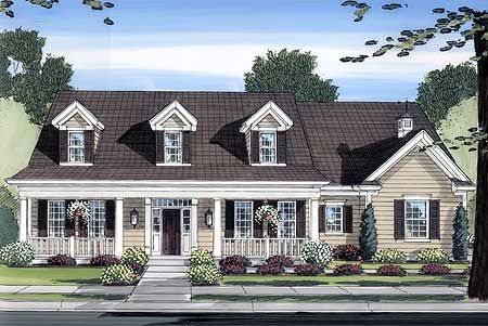 Beautiful Country Exterior - 39118ST | Cape Cod, Country, 2nd Floor Master Suite, Bonus Room, CAD Available, Den-Office-Library-Study, PDF, Corner Lot | Architectural Designs