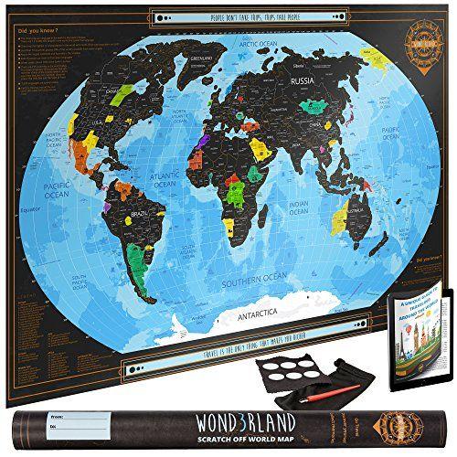Mejores 13 imgenes de scratch off world map en pinterest mapas carteles de paredes mapas de viaje mapas del mundo de viaje journey gumiabroncs Gallery