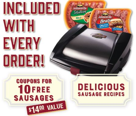 Sizzling sausage grill coupon code