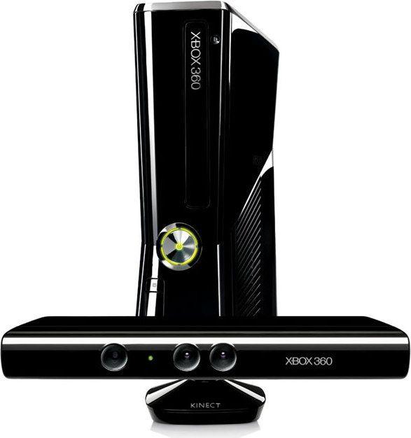 Producent: MicrosoftModel: Xbox 360 4 GB + KinectProcesor CPU: 3200, L2 Cache 1 MB, FSB 2.7 GHzPamięć RAM: 512 MB DDR3Procesor GPU: ATI 500 MHz 10 MB DRAMRozdzielczość: 720p/1080iDysk twardy: 4 GBNapęd optyczny: DVD-ROMDźwięk: 48kHz 16-bit audioWymiary: 2,9x75x264Waga: 2,9 kgPorty: USB,HDMI