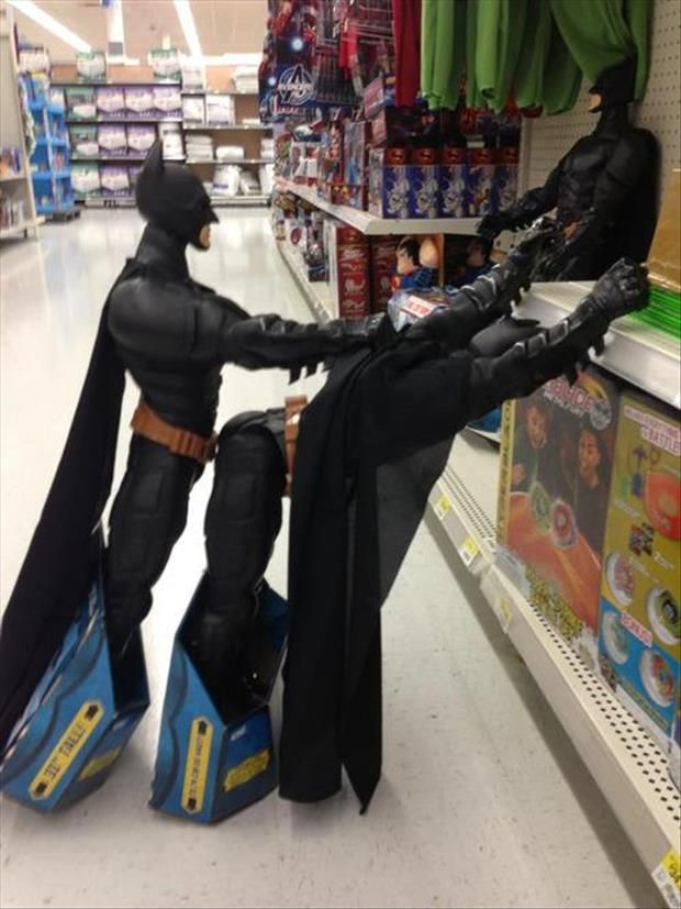 bored in the toy department