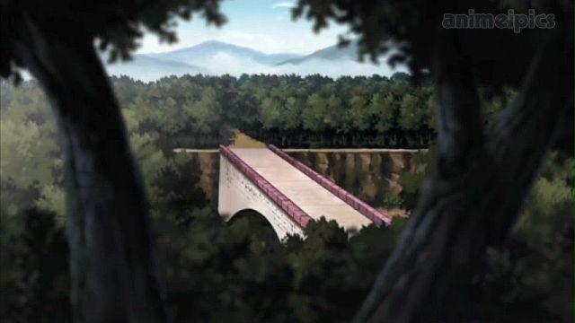 Kanabi Bridge before it destroyed