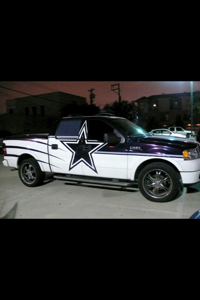 dallas cowboys truck my truck