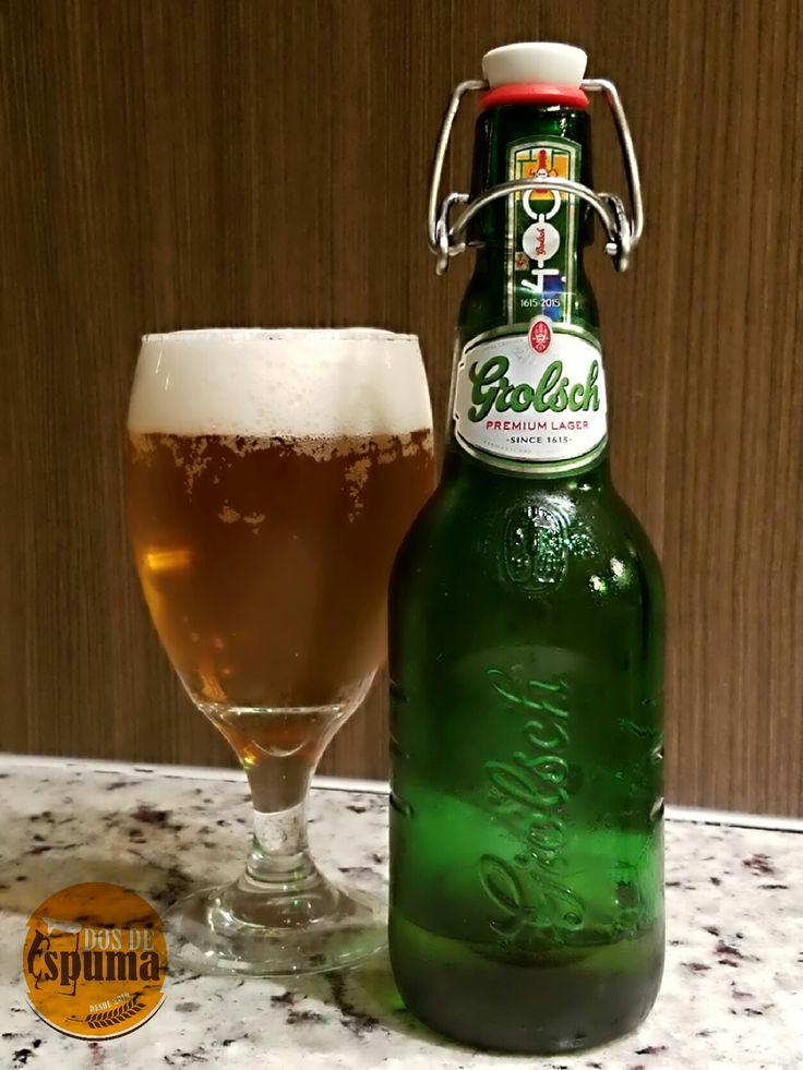 Hoy probamos la cerveza Grolsch, una presentación impecable, con un olor a cerveza indiscutible y excelente sabor. 100% recomendada.  #cerveza #dosdeespuma #birras #beer #cerveceros #cervezas #grolsch