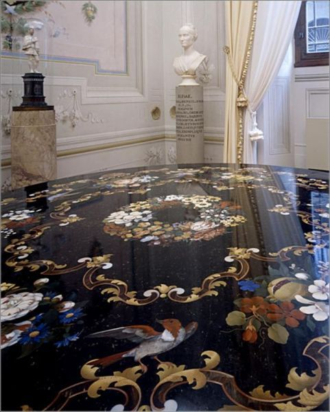 Florence, Italy: Opificio delle Pietre Dure - an entire museum dedicated to the art of inlaying stone to create designs and pictures